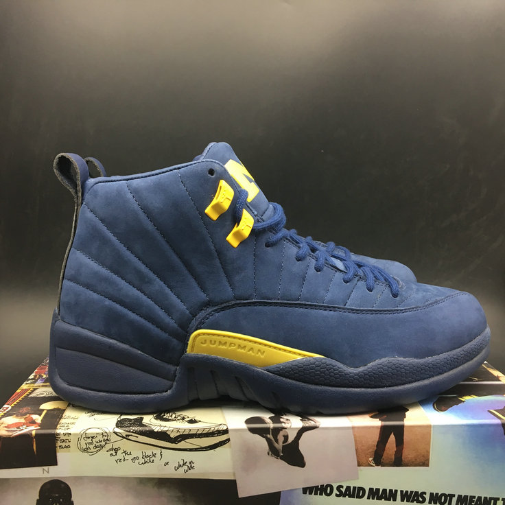 Air Jordan 12 Michigan BQ3180-407