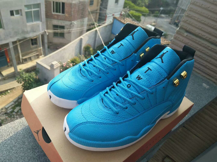 Air Jordan 12 Retro Cheap Game Blue White