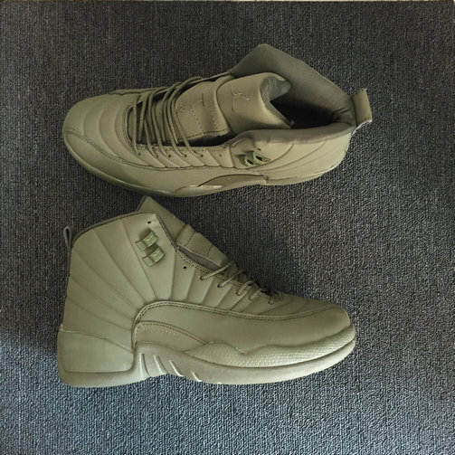 Air Jordan 12 Retro Cheap Triple Light Green