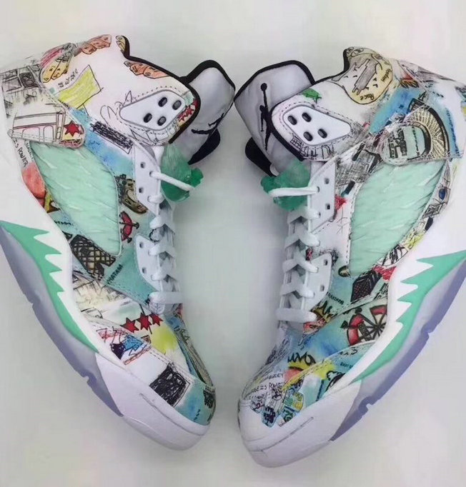 Air Jordan 5 Rtero Cheap Print
