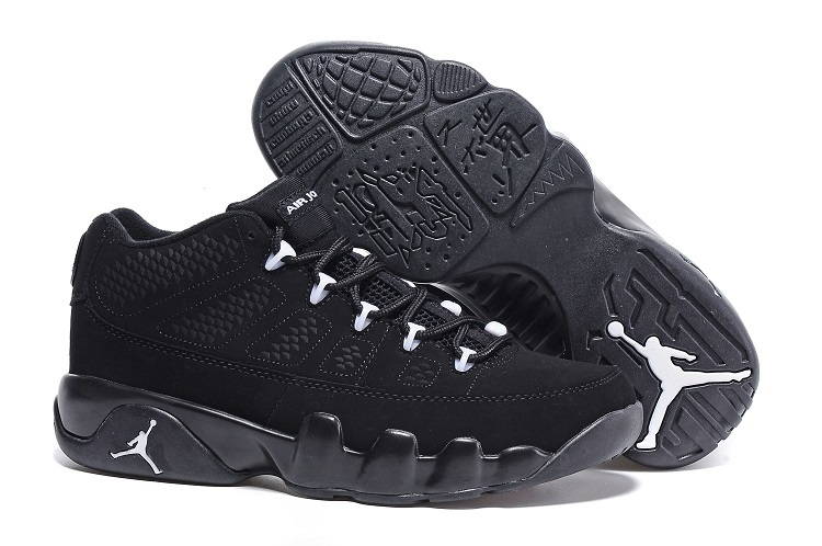 Air Jordan 9 Retro Low Anthracite Black-White For Sale Online