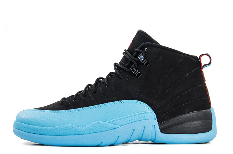 Air Jordans 12 Retro Gamma Blue Black Gamma Blue-Gym Red-White