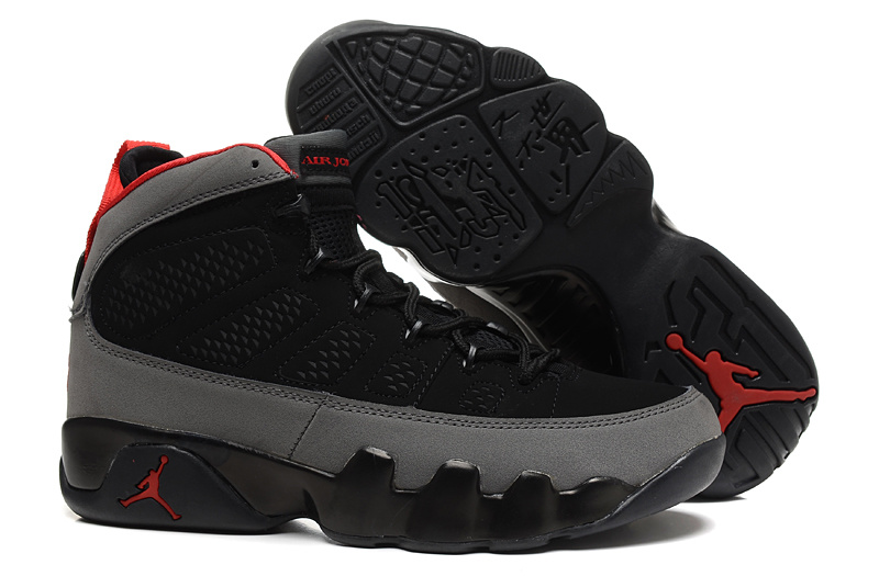 Air Jordans 9 Retro Charcoal Black Charcoal Red For Sale Online