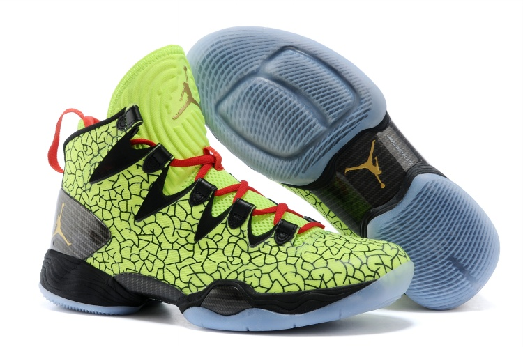 Air Jordans XX8 SE All-Star PE Volt Metallic Gold-Black-Infrared 23 For Sale