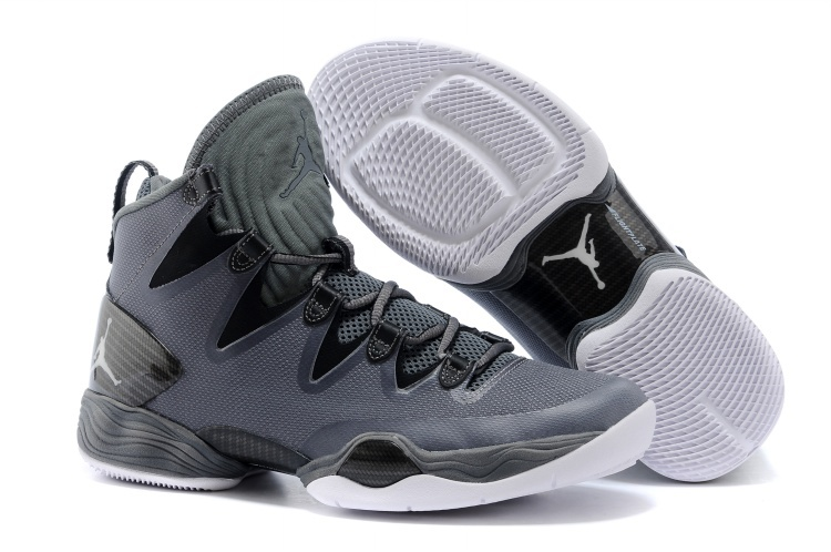 Air Jordans XX8 SE Dark Grey White-Black-Cool Grey For Sale