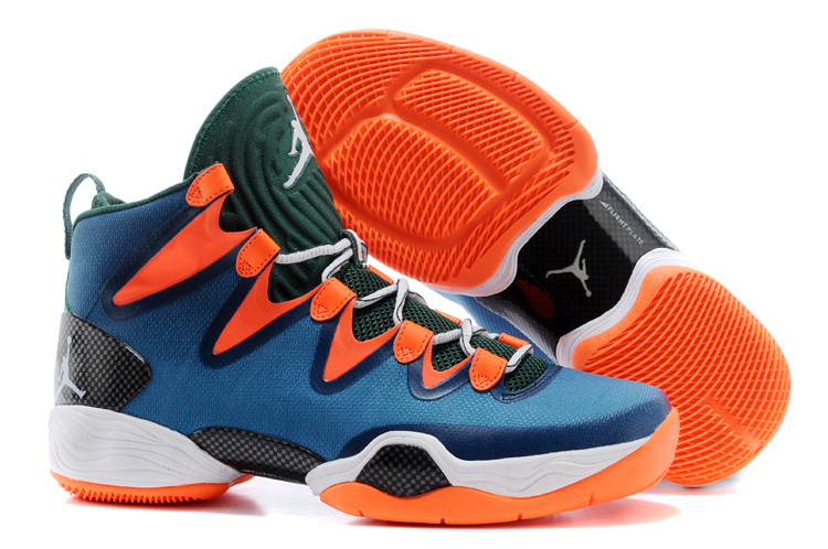 Air Jordans XX8 SE Green Orange For Sale