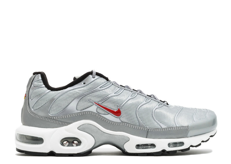 Air Maxs Cheap Nike Air Max TN Plus Metallic Silver University Red