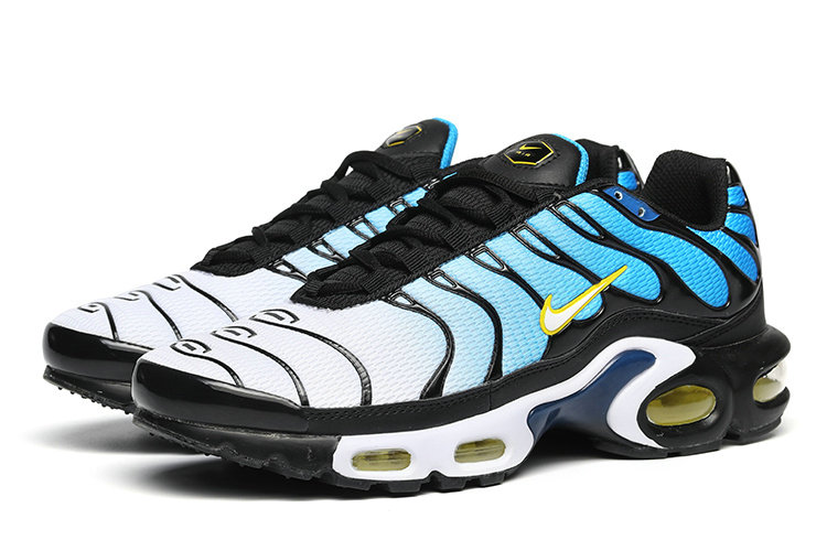 Air Maxs Cheap Nike Air Max TN Plus White Blue Black Yellow