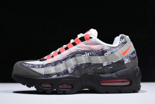 Cheap Atmos x Nike Air Max 95 We Love Nike Black Safety Orange-Medium Ash-Dark Ash AQ0925-002