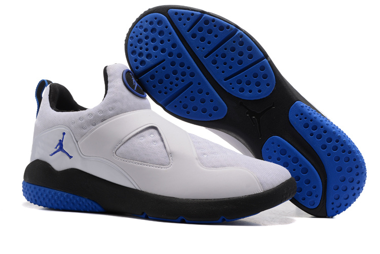 Cheap Air Jordan 8 Trainer Essential White Black Game Royal For Sale