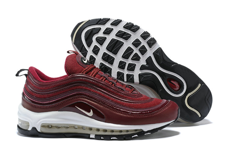 New 2018 Air Max Cheap x Nike Air Max 97 Bordeaux Muslin-White 917646-601