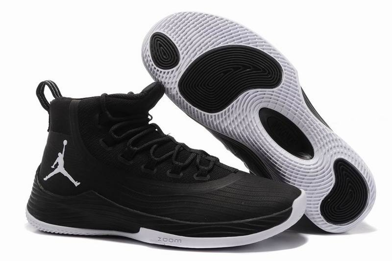 Cheap Jordan Ultra.Fly 2 Anthracite Black White For Sale