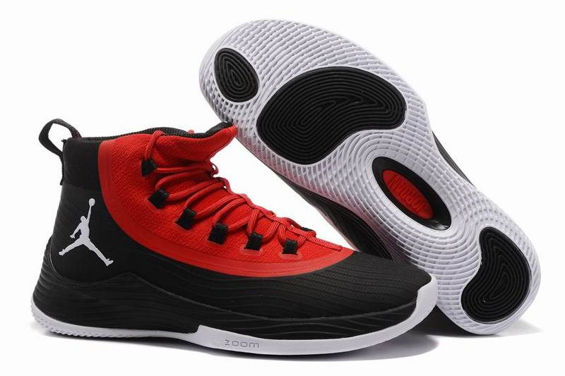 Cheap Jordan Ultra.Fly 2 Black Gym Red-White For Sale