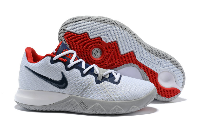 Cheap Kyrie Irvings Nike Kyrie Flytrap Blue White Red