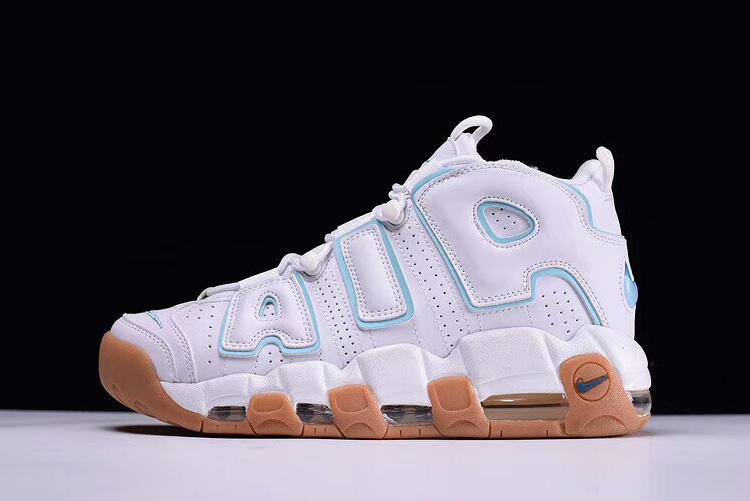 Cheap Mens and WMNS Nike Air More Uptempo Ocean Bliss For Sale