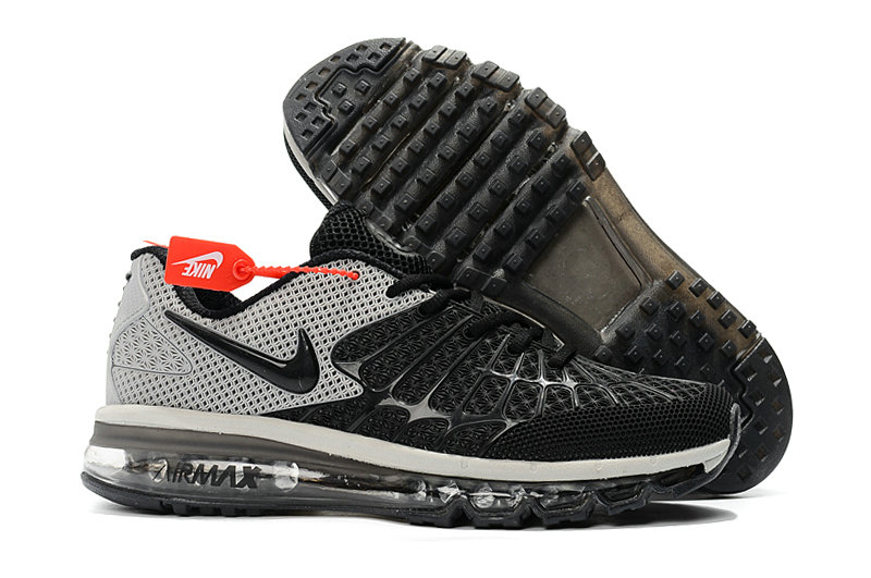 Cheap Newest Nike Air Max 2017 Mens Grey Black