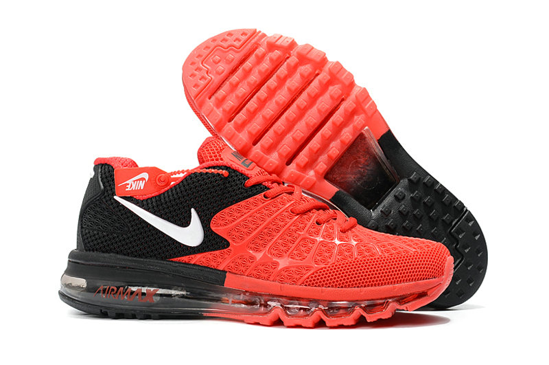 Cheap Newest Nike Air Max 2017 Mens Red Black White