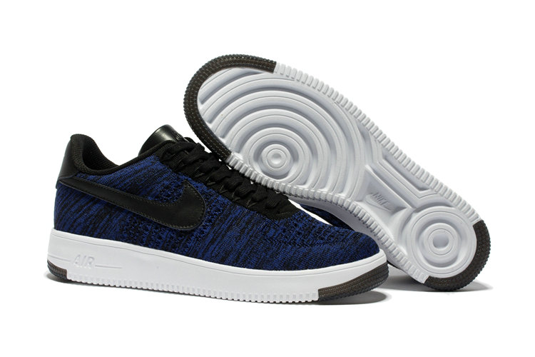 New 2018 Nike AF1 Cheap x Nike Air Force 1 Low Ultra Flyknit Game Blue