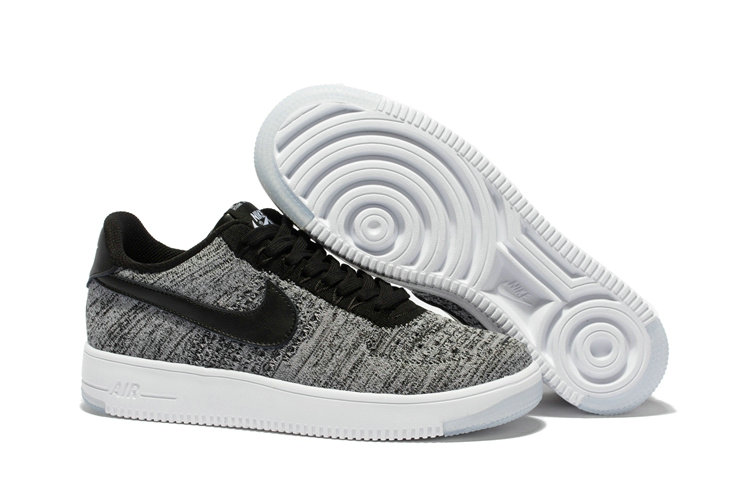 New 2018 Nike AF1 Cheap x Nike Air Force 1 Low Ultra Flyknit Midnight Fog Silt Red-Ivory-String