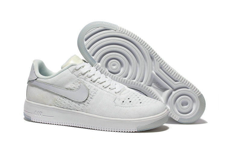 New 2018 Nike AF1 Cheap x Nike Air Force 1 Low Ultra Flyknit White