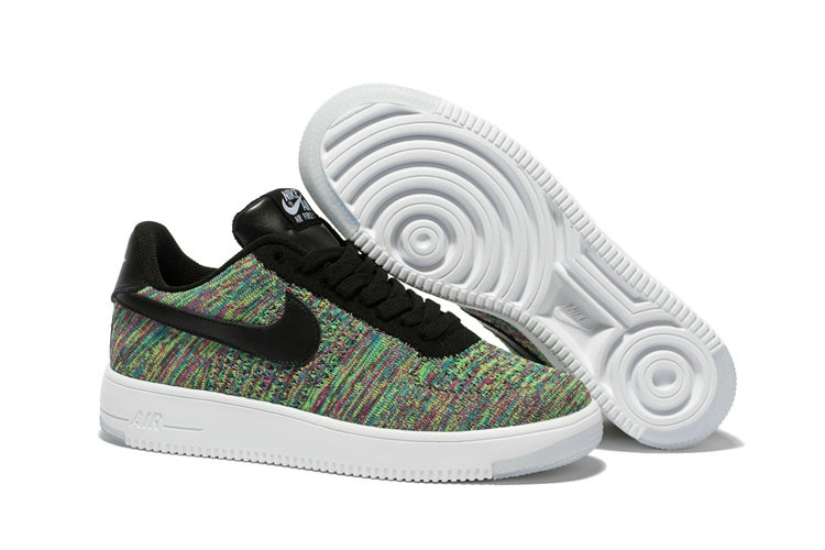 New 2018 Nike AF1 Cheap x Nike Air Force 1 Ultra Flyknit Low in Black Multicolor