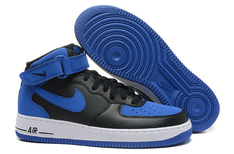 Cheap Nike Air Force 1 High Blue Black Cheap Nike Air Jordan
