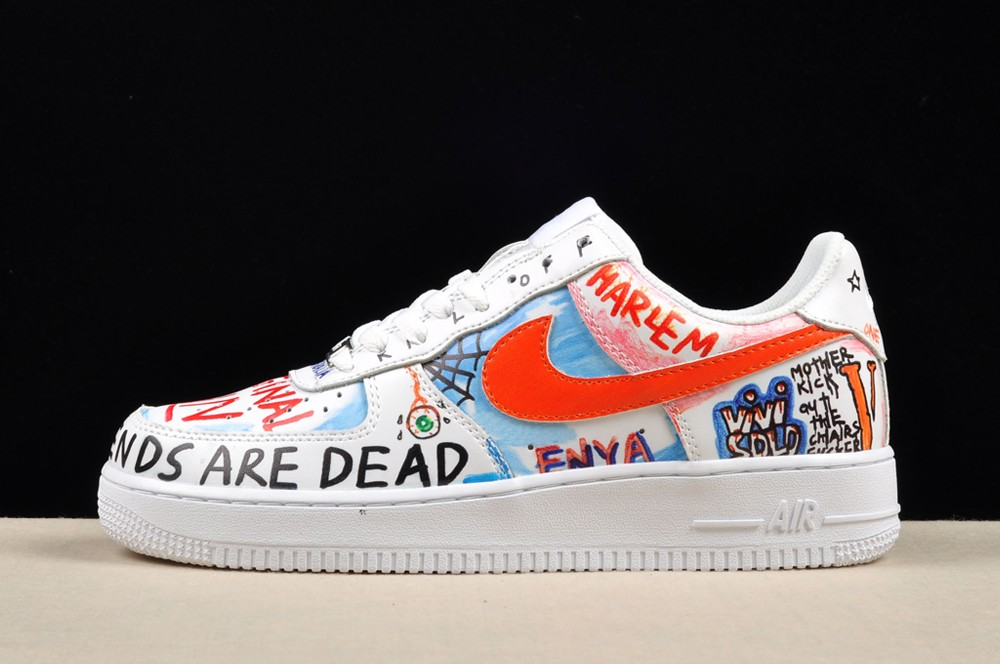 Cheap Nike Air Force 1 Low Pauly Vlone Custom White For Sale