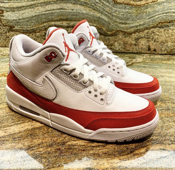 Cheap Nike Air Jordan 3 Tinker Air Max 1 White University Red-Neutral Grey CJ0939-100
