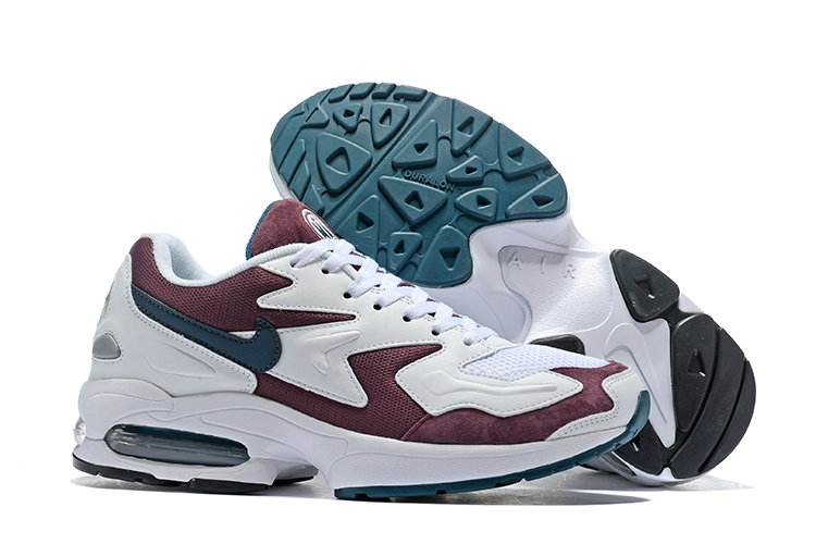Cheap Nike Air Max 2 Light Wine Red White Black