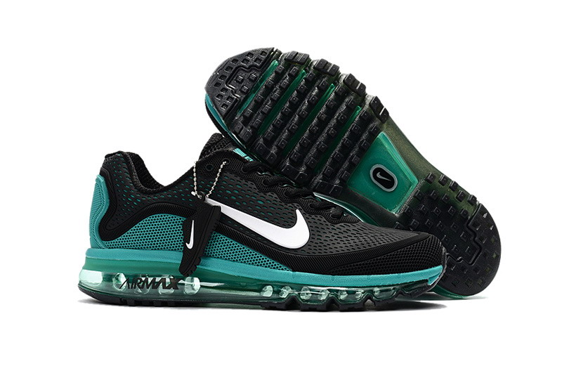 Cheap Nike Air Max 2017 Mens Ocean Green Black Running Shoes