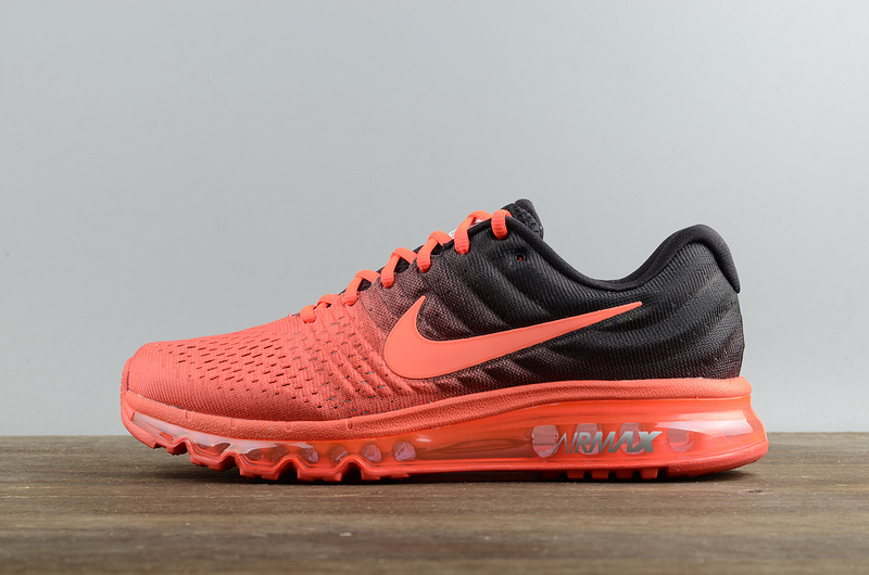 Cheap Nike Air Max 2017 Shoes Bright Crimson Total Crimson Mens