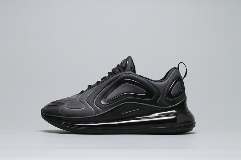 Cheap Nike Air Max 720 Black Grey Gradual Change Noires AR9293-003