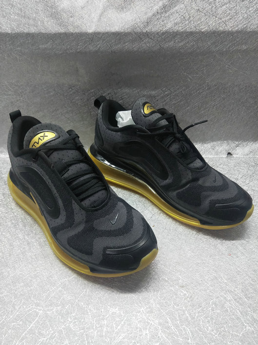 Cheap Nike Air Max 720 Run 2019 New Arrival Black Golden