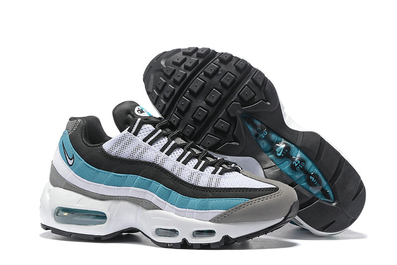 Cheap Nike Air Max 95 Anniversary Womens Blue White Grey Black