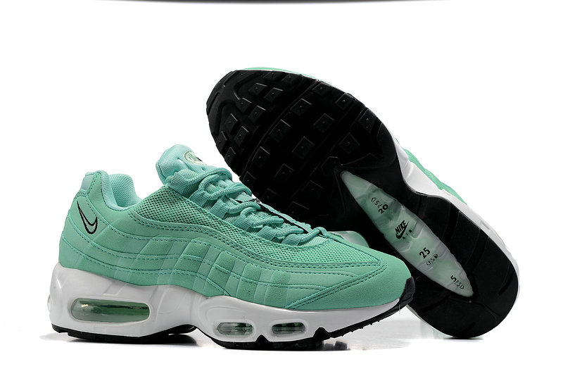 Cheap Nike Air Max 95 Anniversary Womens Grass Green White Black