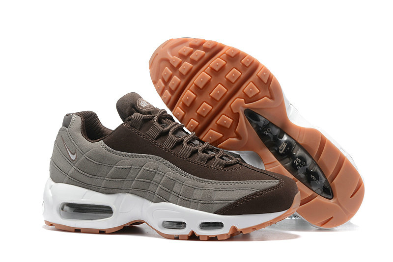Cheap Nike Air Max 95 Anniversary Womens Grey Brown White Yellow