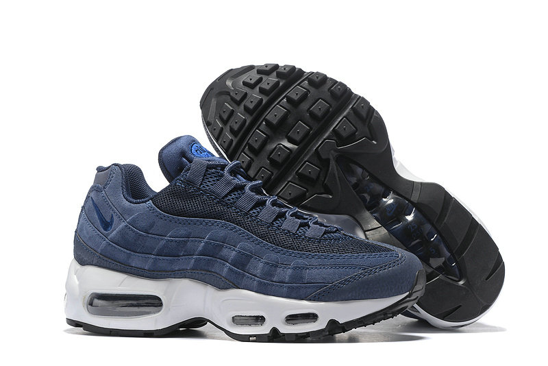 Cheap Nike Air Max 95 Anniversary Womens Navy Blue Black White
