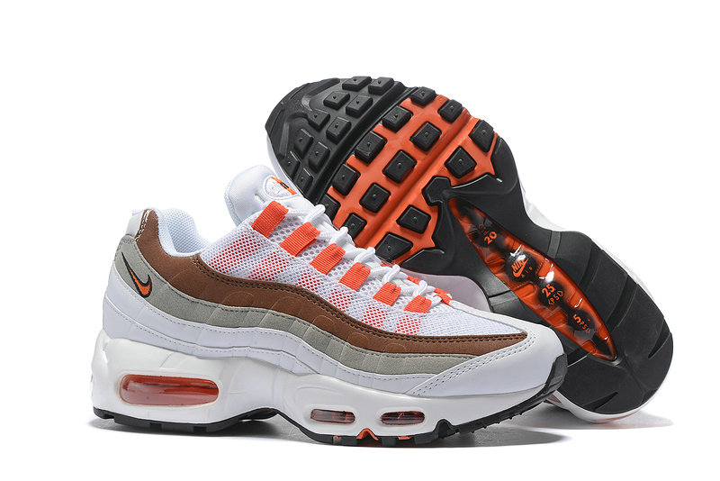 Cheap Nike Air Max 95 Anniversary Womens Orange Grey White Black