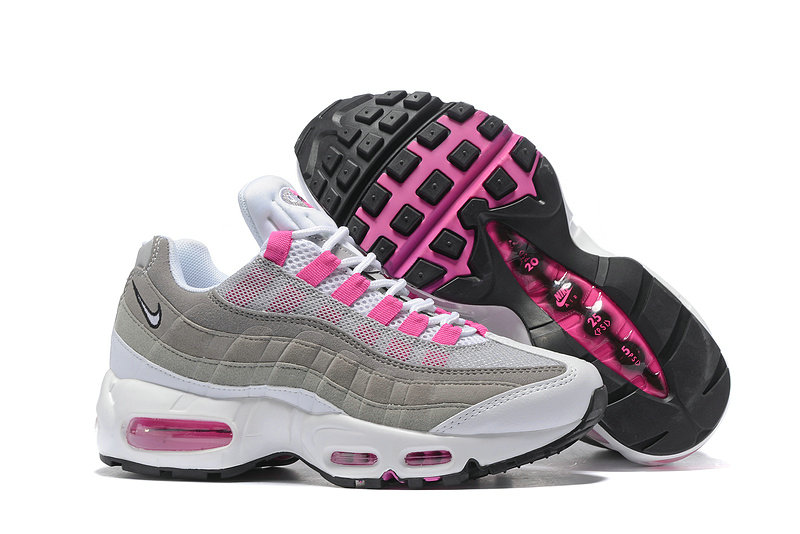 Cheap Nike Air Max 95 Anniversary Womens Pink Grey White Black