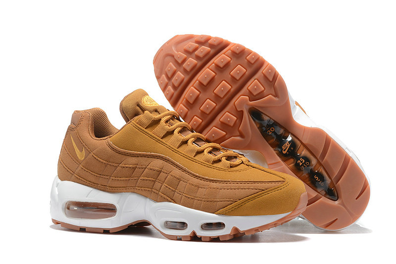 Cheap Nike Air Max 95 Anniversary Womens Wheat Yellow White
