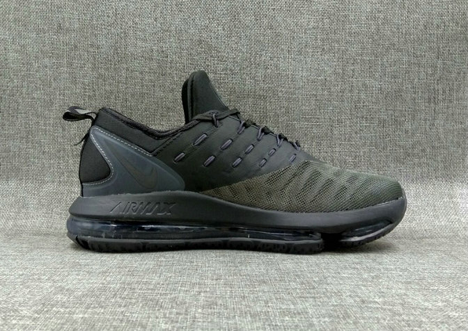 Cheap Nike Air Max DLX Green charcoal gray Running Shoes