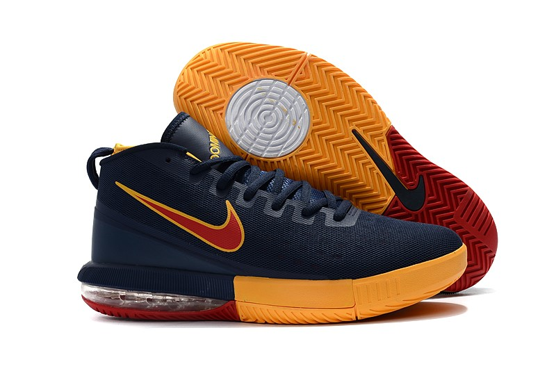 Cheap Nike Air Max Dominate EP Cavs Navy Blue Yellow-Burgundy