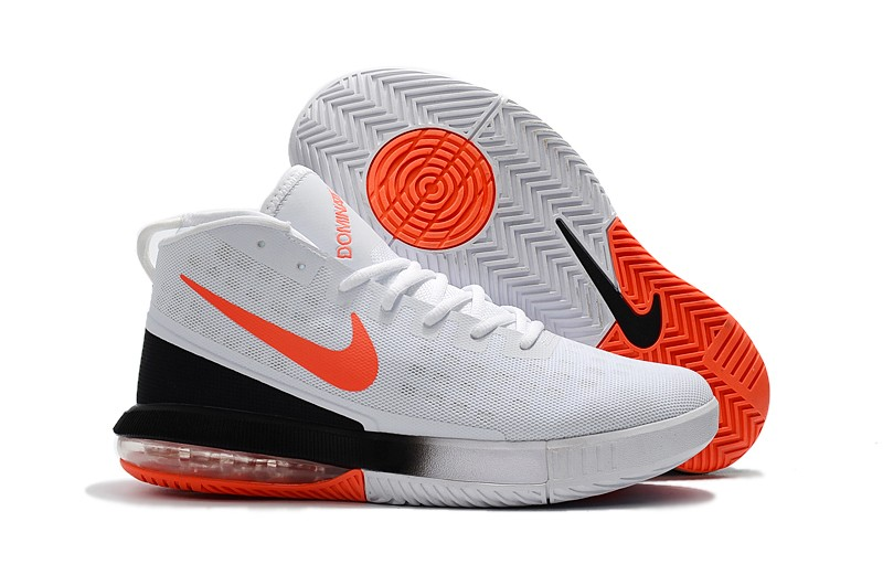 Cheap Nike Air Max Dominate EP White Total Crimson-Black