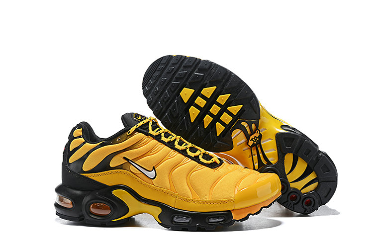 Cheap Nike Air Max Plus 2019 New Arrival Yellow Black