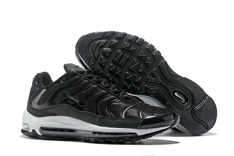 Cheap Nike Air Max Tn x Air Max 97 Mens Black White