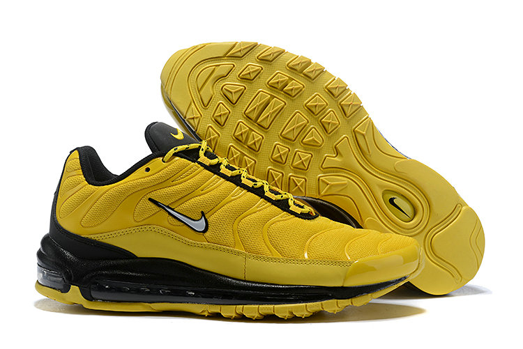Cheap Nike Air Max Tn x Air Max 97 Mens Black Yellow