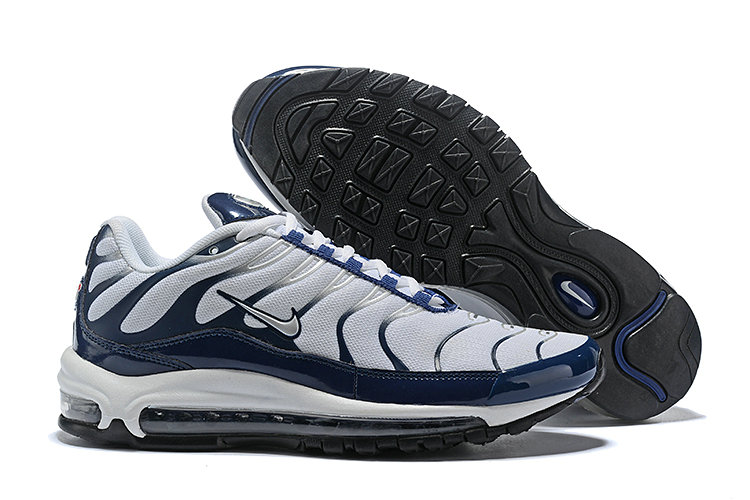 Cheap Nike Air Max Tn x Air Max 97 Mens Navy Blue White Black