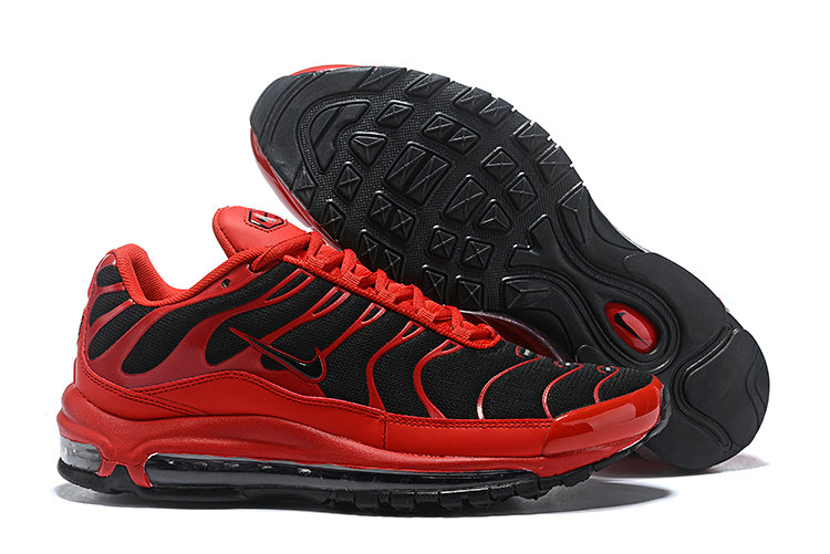 Cheap Nike Air Max Tn x Air Max 97 Mens Red Black