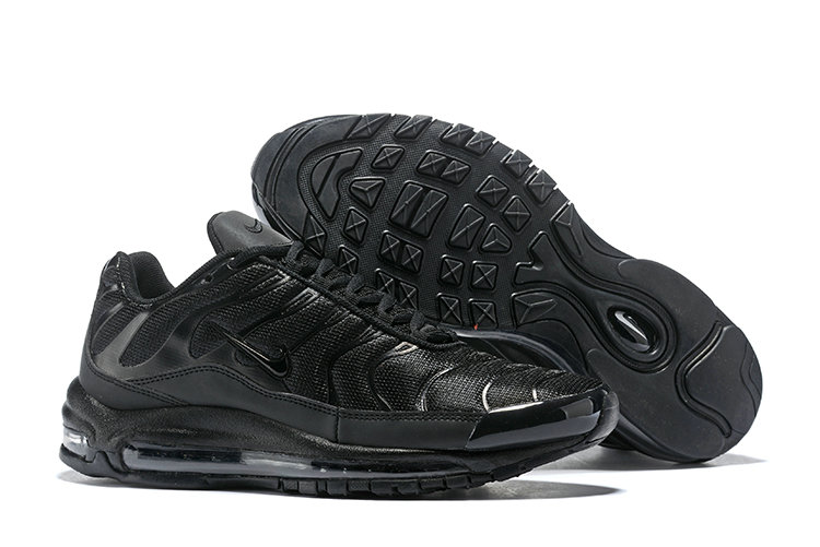 Cheap Nike Air Max Tn x Air Max 97 Mens Triple Black