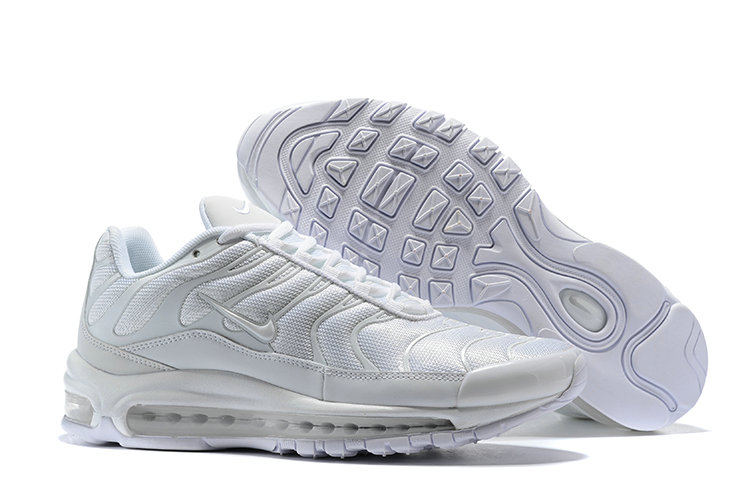 Cheap Nike Air Max Tn x Air Max 97 Mens Triple White